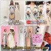 japanese style wrap dress::: เดรสผ้าลินินในลุคญี่ปุ่น พร้อมงานปักลายดอกไม้ สวยในลุคคุณหนู