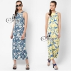 Sevy Graphic Sleeveless Chilaxing Maxi Dress Type: Maxi Dress Fabric: Polyester Detail: เดรสยาวเหนือข้อแขนกุ๊ด ทรงตรง ผ้าพิมพ์ลายกราฟฟิกโด่ดเด่นด้วยการเล่นสีสดใส ที่มีให้เลือกถึง 2 เฉดด้วยกันค่ะ คือ น้ำเงิน และ เหลือง Tag: sevy Color: 2 Colors Blue / Yell