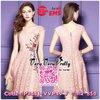 Luxurious Flower Embroidered Lace Korea Dress เดรสผ้าลูกไม้เพิ่มงานปักสไตล์วินเทจ ด้วยเนื้อผ้าลูกไม้ทั้งตัวที่สั่งทำพิเศษบวกกับการปักลายดอกไม้สีสันคมชัดงานปักเนื้อแน่นทับเข้าไปเพื่อเพิ่มความสวยหรูให้กับชุดเข้ากันได้ลงตัวมากค่ะ งานมีซับในทั้งตัว โชว์ซิปด้า