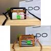 ALDO Crisco Small cross-body with turn lock detail. กระเป๋าสะพายข้างแบรนด์ดังจากแคนาดา Cross-body วัสดุหนังสวย ด้านหน้า design แต่งกุญแจเล็กสีทอง ภายในมีโลโก้แบรนด์ มี1ช่องใหญ่ 2 ช่องเล็กและ 1 ช่องซิป ใส่มินิไอแพคและกระเป๋าสตางค์ทรงยาวได้ ฐานกว้างตั้งอยู่