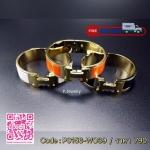 กำไล Hermes Size M หน้ากว้าง 1.6 ซม. อะไหล่สีทอง งาน stainless steel งานคลาสสิค ใส่ได้ตลอดคะ ดูไม่เยอะ ใส่ได้ทุกวัน สินค้า Made in Korea