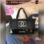 พร้อมส่ง Must Have! Chanel Beaute Black Sequin Shopping Bag กระเป๋าสะพาย ShoppingBag พรีเมี่ยมกิ้ฟ Limited Edition ของแท้นำเข้าจากเคาน์เตอร์ Chanel Beaute รุ่นใหม่ขนาดมินิประดับคริสตัลสีดำโลโก้ CC สุดคลาสสิคเปิดปิดด้วยซิปหัวซิปแบรนด์ ภายในมีโลโก้และช่องซิ