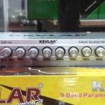 ปรีแอมป์รถยนต์ 9 แบนด์ ยี้ห้อ KEVLAR รุ่น K-991