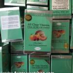 All Clear Vitamin Clear Acne and Oil Control วิตามินเคลียร์สิว ราคาถูก ขายส่ง ของแท้