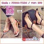 New!!Shoes2018 รีพีท!!!มารอบที่เท่าไหร่ไม่รู้ แต่หมดไวทุกรอบ ขายดีมว๊ากกก!!! รองเท้าส้นตัน STYLE KOREA ดีไซน์เกร๋ๆ ทรงรัดข้อสวย คาดซิลิโคนใส ด้านหน้าเท้าแต่งคาดสายตรง ทำให้เท้าเรียวสวยฝุดๆ พื้นนวมนิ่มสบาย แมทได้หลายสไตล์ ส้นสีไม้สวยไปอีก คู่นี้จัดว่าแซ่บ