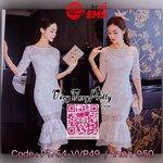 Luxurious White Embroidered Lace Dress เดรสผ้าลูกไม้สไตล์งานแบรนด์ค่ะ เนื้อผ้าลูกไม้ทั้งตัว งานสวยทรงเข้ารูป คอกลม แขนยาวศอก เข้ารูปช่วงเอว ปลายกระโปรงเล่นดีเทลความสวยด้วยทรงระบายหางปลานิดๆ เพิ่มความสวยหรูให้กับชุดได้ลงตัวมากค่ะ เนื้อผ้าลูกไม้หนานุ่ม งานม
