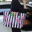 Don't Miss! พร้อมส่งความสวย Victoria's Secret Vintage Flower Print Shoulder Bag กระเป๋าสะพายสไตล์วินเทจจาก Victoria's Secret หนัง Saffiano (กันนำ้) สกรีนลายดอกไม้เปิดปิดด้วยซิป หัวซิปโลโก้ VS ด้านหน้าประดับตัวอักษร VS ภายในดำมีช่องซิปและช่อ thumbnail 17