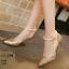รองเท้าส้นสูง ทรงปริ้นเซส รัดข้อไข่มุก งานสวยมากก หนังวิ้งฉ่ำโดนใจ กริสเตอร์เกรดพรีเมี่ยมเล่นแสง 100% รุ่นนี้ +1 ไซส์จากปกติ เท้ากว้าง +2ไซส์นะคะ สาวๆ thumbnail 13