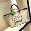 Must Have!!! Victoria's Secret Canvas Large Tote Bag กระเป๋าทรง Tote Bag (Size L) ของแท้จาก Victoria's Secret วัสดุ Canvas ด้านหน้าประดับโซ่พร้อมสกรีนแบรนด์ Victoria's Secret ด้านข้างมีกระดุมปรับขยายทรง ภายในมีโลโก้และช่องซิป กว้างจุของได้เ thumbnail 6