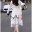Grandiose White Cotton Long Shirt Style Korea เดรสเชิตตัวยาวสีขาวสไตล์เกาหลีค่ะ เนื้อผ้าเชิตคอตตอนเนื้อดี ผสมผสานกับผ้าชีฟองสุดหรูนุ่มลื่นใส่สบายผิวค่ะ ทรงเดรสเป็นเชิตคอปก กระดุมหน้า ช่วงแขนยาวตัดต่อด้วยผ้าชีฟองซีทรูสวยหรูมากค่ะ ชายตัวเดรสนำผ้าชีฟองมาตัดต thumbnail 4