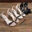 ขายดีมาก..สินค้าพร้อมส่ง 18-1329 รองเท้าส้นเข็มรัดข้อหุ้มส้น วัสดุหนังPUเงา แวววาว ด้านหน้าประดับด้วยโซ่ พื้นนิ่ม งานสวยมาก สายแบบตะขอเกี่ยวปรับขนาดได้ ใส่ถอดง่าย ส้นสูง 4 นิ้ว มา 3 สี ดำ ครีม ชมพู จัดไปให้ไว ใส่แล้วสวยแน่นอนจร้าา.. thumbnail 16