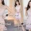 Seoul Secret Say's .... Pastel Pinky Cami Lace Dress Material : งานเดรสหวานๆ ใส่แล้วดูสวยน่ามอง งานสวยน่าใส่ด้วยเดรสสีชมพู แอบเซ็กซี่นิดๆ ด้วยงานเย็บแต่งด้วยผ้าลูกไม้ซีทรูแต่งที่ช่วงอกและเอว เติมความหวานด้วยงานเย็บแต่งด้วยริบบิ้นผ้าลูกไม้แต่งที่ขอบคอ thumbnail 6