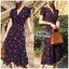 Lady Ribbon's Made Lady Beatrice Summer Cherries Printed Dress เดรสพิมพ์ลายเชอร์รี่สไตล์ซัมเมอร์ ลุคนี้สวยเก๋สุดๆ เป็นสไตล์ศัมเมอร์เลย สีสดใส แต่ไม่ฉูดฉาด พื้นผ้าเป็นสีน้ำเงินสด พิมพ์ลายเชอร์รี่สีแดงสดทั่วทั้งตัว ทรงเดรสเป็นแบบปาดข้าง ผูกโบที่เอว แบบ thumbnail 10