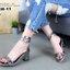 แบบขายดี พร้อมเสิร์ฟ!!! รองเท้าส้นเหลี่ยมรัดข้อ สไตล์ HERMES แบบใหม่ล่าสุด สวยชนชอป หนังปรอทเงา ขับผิวเท้า สายรัดพันข้อด้วยตัวล็อค สวยหรู ดูแพงสุดๆ สูง 6.5 cm น้ำหนักเบา แมทกับชุดไหนก็สวย ใส่ได้ตลอด พร้อมเสิร์ฟความสวยเก๋ก่อนใครที่นี่ที่เดียวค่ะ thumbnail 6