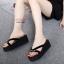 แบบใหม่พร้อมส่ง Summer นี้มีรองเท้าใส่ไปเล่นสงกรานต์ยังจ๊ะสาวๆ ถ้ายังไม่มีขอแนะนำ รองเท้าแตะนำเข้าหูหนีบส้นเตารีดโฟม ประดับโบว์ น่ารักมากๆ น้ำหนักเบา เปียกน้ำได้ รีบจับจองกันได้น้าคะ thumbnail 3