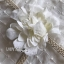 Lady Ribbon's Made Lady Jessica Little Princess Embroidered Chiffon Long Dress with Camellia Belt เดรสผ้าชีฟองปักลายสีขาวตกแต่งเข็มขัดดอกคามิลเลีย ตัวนี้สวยมากค่ะ เป็นเดรสยาว ใส่ออกงานได้เลย เนื้อผ้าเป็นชีฟองเนื้อหนาปักลายจุดเป็นแพทเทิร์นตารางทั่วตัว thumbnail 15