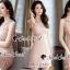 Seoul Secret Say's .... Pastel Pinky Cami Lace Dress Material : งานเดรสหวานๆ ใส่แล้วดูสวยน่ามอง งานสวยน่าใส่ด้วยเดรสสีชมพู แอบเซ็กซี่นิดๆ ด้วยงานเย็บแต่งด้วยผ้าลูกไม้ซีทรูแต่งที่ช่วงอกและเอว เติมความหวานด้วยงานเย็บแต่งด้วยริบบิ้นผ้าลูกไม้แต่งที่ขอบคอ thumbnail 4