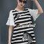 Seoul Secret Say's...Girly Zebra Stripe Knite Tie Eyelet Dress Material : เดรสลายริ้วเนื้อผ้าคอตตอลใส่แล้วดูหวานๆ เก๋น่ามอง งานสวยเก๋ด้วยลายริ้ว ทรงปล่อยสวยน่ารักมากคะ ดีเทลงานปักลายม้าลายมีมิติเก๋มากคะ ช่วงแขนเย็บต่อด้วยผ้าแขนระบายหวานๆ สาวๆ เติมด้ว thumbnail 6