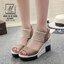 พร้อมส่ง… รองเท้าแฟชั่นนำเข้าส้นเตารีดสไตล์เกาหลี สวยหนักมว๊ากกก... รองเท้าแฟชั่นนำเข้าส้นเตารีดสไตล์เกาหลี วัสดุหนังกลับ ผสม pu อย่างดี น้ำหนักเบา ทรงสวย แต่ง 2 โทนสี เพิ่มความเก๋ส์ ด้วยที่รัดข้อแบบใหญ่ตาข่าย ตะขอเกี่ยวใส่ง่าย match ได้กับทุกชุด บอกเลยคู thumbnail 10