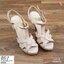มาเพิ่ม ครบ4 สี แบบขายดีมาก.. สินค้าพร้อมส่ง 851-10 มาใหม่จร้าา.. รองเท้าส้นสูงสไตล์YSLรุ่นหนังเงา วัสดุหนังแก้ว เล่นแสงแวววาว รองเท้าที่สาวๆ ต้องมีติดตู้ไว้เลย หนังสวยนิ่ม สายตะขอเกี่ยว เจาะ4รูปรับขนาดได้ ใส่ง่ายสวยเป๊ะปังจร้า พื้นนิ่ม เสริมหน้า1นิ้ว หลั thumbnail 9