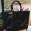 "Best Seller! Givenchy Black Soft Leather Shoulder Handbags (Limited edition!) กระเป๋าถือหรือสะพายพรีเมี่ยมของเเท้จาก ""Givenchy Perfume Counter"" วัสดุหนังนิ่มเรียบสีดำด้านหน้าปั้มโลโก้แบรนด์ GV ภายใน Polyester 100% สีดำสกรีนโลโก้สวยดูดี เปิดปิดด้ thumbnail 10"