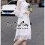 Grandiose White Cotton Long Shirt Style Korea เดรสเชิตตัวยาวสีขาวสไตล์เกาหลีค่ะ เนื้อผ้าเชิตคอตตอนเนื้อดี ผสมผสานกับผ้าชีฟองสุดหรูนุ่มลื่นใส่สบายผิวค่ะ ทรงเดรสเป็นเชิตคอปก กระดุมหน้า ช่วงแขนยาวตัดต่อด้วยผ้าชีฟองซีทรูสวยหรูมากค่ะ ชายตัวเดรสนำผ้าชีฟองมาตัดต thumbnail 3
