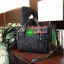 พร้อมส่ง ZARA Quilted City Bag กระเป๋าถือหรือสะพายทรง Totebag โดดเด่นด้วยหนังแกะสังเคราะห์แบบนิ่มสีดำเพิ่มดีเทลเก๋ด้วยการแต่งลายรอบใบด้วยการเย็บลายสไตล์คลาสสิค ด้านข้างมีซิปรูดขยายทรงได้ทั้ง 2 ข้าง ภายในมีโลโก้และช่องซิปสามารถใส่ ipadได้ มาพร้อมสายสะพายยา thumbnail 10