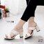 แนะนำรองเท้าส้นสูง Maxi ที่ใส่ละขายาวเรียว สวยลงตัว จบปัง สวยสั่งได้ถ้ามีคู่นี้เลย เรียบๆแต่ดูแพง หนังก็นิ่มมากจนรีวิวเพียบ thumbnail 4