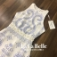 LA LA BELLE - งานเหมือน งานปัง งานเริ่ด !!! New!!! พร้อมส่ง/Available now Brand : Style Korea By : LA LA BELLE Teg : 9flyday Detail : เดรสสีขาวคอกลมแขนกุดพิมพ์ลายโบฮีเมี่ยนทั้งชุดกระโปรงทรงเอปลายหยัก เอวตกแต่งด้วยมุขเย็บเพิ่มความโดดเด่นให้ชุดค่ะ มีซับในรุ thumbnail 6