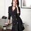 พร้อมส่ง Cliona Made' Korean Luxury Jacket Dress - ชุดเดรสสูตรแขนยาว ช่วงไหล่มีฟองน้ำในตัว คอวี ทรงป้ายหน้าติดกระดุมซ่อน ผ่าด้านหน้าสองข้าง สวมใส่ง่าย ที่ปลายแขนมีกระดุม ชายกระโปรงอัดกลีบรอบดูสวยมากค่ะ สาวๆไม่ควรพลาดกันเลยทีเดียวค่าา งานเกรด Premium  thumbnail 11