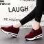 มาเพิ่ม..ครบสี ครบไซส์... รองเท้าผ้าใบเสริมส้น งานนำเข้า100% วัสดุหนังสักหลาด ผ้าใบสไตล์เกาหลี ใส่ปุ๊ปสูงปั๊ป สาวๆร่างเล็กที่ต้องการ เสริมความสูงให้ดูสูงโปร่งได้ง่ายๆ ด้วยผ้าใบเสริมส้นน้ำหนักเบาใส่สบาย ด้านหน้าเสริม 0.5 นิ้ว เสริมในหลัง 1.5 นิ้ว เสริมหลัง thumbnail 3