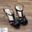 มาเพิ่ม ครบ4 สี แบบขายดีมาก.. สินค้าพร้อมส่ง 851-10 มาใหม่จร้าา.. รองเท้าส้นสูงสไตล์YSLรุ่นหนังเงา วัสดุหนังแก้ว เล่นแสงแวววาว รองเท้าที่สาวๆ ต้องมีติดตู้ไว้เลย หนังสวยนิ่ม สายตะขอเกี่ยว เจาะ4รูปรับขนาดได้ ใส่ง่ายสวยเป๊ะปังจร้า พื้นนิ่ม เสริมหน้า1นิ้ว หลั thumbnail 10