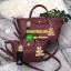 สีมาใหม่ค่า New arrival! KEEP ทรง longchamp รุ่น Duo Sister - D.brown color น้ำตาลเข้ม ตัวกระเป๋าหนังแกะสังเคราะห์ ลายหนังสวยมากๆคะ นิ่ม สุดๆ รุ่นนี้ จะมี 2 ขนาด คือ mini และ basic ไซด์ ทรงนี้ เป็นทรงที่ใช้งานง่าย ใช้ได้ทุกโอกาสจริงๆคะ ตัวกระเป๋าสามารถพับ thumbnail 10