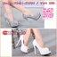 New Arrivals รองเท้าคัชชูส้นสูงงานพรีเมี่ยม งานดี มีคุณภาพ ใส่สวย ไม่ซ้ำใคร แน่นอนจ้า 👠หนังกลิตเตอร์ งานสวยมาก 👠ทรงคัชชู เปิดหัวเล็กน้อย 👠ทรงดี ใส่สวย ใส่สบาย 👠ส้นสูง 12 ซม. เสริมหน้า 4 ซม. thumbnail 1