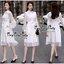 Grandiose White Cotton Long Shirt Style Korea เดรสเชิตตัวยาวสีขาวสไตล์เกาหลีค่ะ เนื้อผ้าเชิตคอตตอนเนื้อดี ผสมผสานกับผ้าชีฟองสุดหรูนุ่มลื่นใส่สบายผิวค่ะ ทรงเดรสเป็นเชิตคอปก กระดุมหน้า ช่วงแขนยาวตัดต่อด้วยผ้าชีฟองซีทรูสวยหรูมากค่ะ ชายตัวเดรสนำผ้าชีฟองมาตัดต thumbnail 9