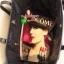 "Best Seller! Givenchy Black Soft Leather Shoulder Handbags (Limited edition!) กระเป๋าถือหรือสะพายพรีเมี่ยมของเเท้จาก ""Givenchy Perfume Counter"" วัสดุหนังนิ่มเรียบสีดำด้านหน้าปั้มโลโก้แบรนด์ GV ภายใน Polyester 100% สีดำสกรีนโลโก้สวยดูดี เปิดปิดด้ thumbnail 11"