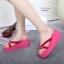 แบบใหม่พร้อมส่ง Summer นี้มีรองเท้าใส่ไปเล่นสงกรานต์ยังจ๊ะสาวๆ ถ้ายังไม่มีขอแนะนำ รองเท้าแตะนำเข้าหูหนีบส้นเตารีดโฟม ประดับโบว์ น่ารักมากๆ น้ำหนักเบา เปียกน้ำได้ รีบจับจองกันได้น้าคะ thumbnail 8