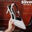 แบบขายดี พร้อมเสิร์ฟ!!! รองเท้าหัวแหลมรัดข้อ หนังนิ่มผสมกริตเตอร์ สูง 2.5 นิ้ว น้ำหนักเบา ใส่ออกงานได้ แมทกับชุดไหนก็ง่าย งานขายดีที่สาวไม่ควรพลาด พร้อมเสิร์ฟความสวยที่นี่ที่เดียวค่ะ thumbnail 7
