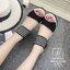 พร้อมส่ง… รองเท้าแฟชั่นนำเข้าส้นเตารีดสไตล์เกาหลี สวยหนักมว๊ากกก... รองเท้าแฟชั่นนำเข้าส้นเตารีดสไตล์เกาหลี วัสดุหนังกลับ ผสม pu อย่างดี น้ำหนักเบา ทรงสวย แต่ง 2 โทนสี เพิ่มความเก๋ส์ ด้วยที่รัดข้อแบบใหญ่ตาข่าย ตะขอเกี่ยวใส่ง่าย match ได้กับทุกชุด บอกเลยคู thumbnail 3