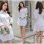 Smart Chic White Shirt Style Korea เดรสเชิตตัวยาวเนื้อผ้าคอตตอนสีขาวสวยงานแฟชั่นเกาหลีค่ะ เนื้อผ้าคอตตอนขาวสวยมาทรงเชิตคอปกแขนยาว ตกแต่งเชือกผูกไขว้ด้านข้างสวยเก๋มากค่ะ หน้าอกมีกระเป๋าเสื้อสองข้าง มีกระดุมผ่าหน้า เชิตใส่แบบเข้ารูปก็ได้ หรือปล่อยพลางหุ่นก็ thumbnail 10