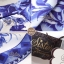 2Sister Made, White & Blue Premium Paradise Korea Vintage Dress เดรสแขนกุดลุคเรียบหรู เนื้อผ้าpolyester+silkมันเงาสวย พิมพ์ลายสวยมากค่ะ ดีเทลแขนกุด งานมีซิปด้านหลังจ้า กระโปรงระบายบานสวย งานมีซับในอย่างดีค่ะ งานป้าย2sister สินค้านำเข้างานพรีเมียมนะคะ Cutt thumbnail 8