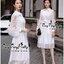 Grandiose White Cotton Long Shirt Style Korea เดรสเชิตตัวยาวสีขาวสไตล์เกาหลีค่ะ เนื้อผ้าเชิตคอตตอนเนื้อดี ผสมผสานกับผ้าชีฟองสุดหรูนุ่มลื่นใส่สบายผิวค่ะ ทรงเดรสเป็นเชิตคอปก กระดุมหน้า ช่วงแขนยาวตัดต่อด้วยผ้าชีฟองซีทรูสวยหรูมากค่ะ ชายตัวเดรสนำผ้าชีฟองมาตัดต thumbnail 8
