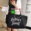 Must Have!!! Victoria's Secret Canvas Large Tote Bag กระเป๋าทรง Tote Bag (Size L) ของแท้จาก Victoria's Secret วัสดุ Canvas ด้านหน้าประดับโซ่พร้อมสกรีนแบรนด์ Victoria's Secret ด้านข้างมีกระดุมปรับขยายทรง ภายในมีโลโก้และช่องซิป กว้างจุของได้เ thumbnail 4