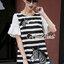 Seoul Secret Say's...Girly Zebra Stripe Knite Tie Eyelet Dress Material : เดรสลายริ้วเนื้อผ้าคอตตอลใส่แล้วดูหวานๆ เก๋น่ามอง งานสวยเก๋ด้วยลายริ้ว ทรงปล่อยสวยน่ารักมากคะ ดีเทลงานปักลายม้าลายมีมิติเก๋มากคะ ช่วงแขนเย็บต่อด้วยผ้าแขนระบายหวานๆ สาวๆ เติมด้ว thumbnail 4
