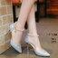 รองเท้าส้นสูง ทรงปริ้นเซส รัดข้อไข่มุก งานสวยมากก หนังวิ้งฉ่ำโดนใจ กริสเตอร์เกรดพรีเมี่ยมเล่นแสง 100% รุ่นนี้ +1 ไซส์จากปกติ เท้ากว้าง +2ไซส์นะคะ สาวๆ thumbnail 7