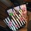 Don't Miss! พร้อมส่งความสวย Victoria's Secret Vintage Flower Print Shoulder Bag กระเป๋าสะพายสไตล์วินเทจจาก Victoria's Secret หนัง Saffiano (กันนำ้) สกรีนลายดอกไม้เปิดปิดด้วยซิป หัวซิปโลโก้ VS ด้านหน้าประดับตัวอักษร VS ภายในดำมีช่องซิปและช่อ thumbnail 8
