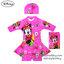 (size L)Swimsuit for Girls ชุดว่ายน้ำ เด็กผู้หญิง Disney Minnie Mouse บอดี้สูทเสื้อแขนยาว กระโปรงกางเกง สีชมพู มาพร้อมหมวกว่ายน้ำและถุงผ้า สุดน่ารัก ใส่สบาย ดิสนีย์แท้ ลิขสิทธิ์แท้ (สำหรับเด็กอายุ 6-8 ปี)