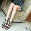 "GIVENCHY SHOES Style Givenchy ส้นสูงดีไซน์เรียบหรู ดูคลาสสิค ซิปหลัง เพิ่มดีเทลโซ่ทอง Sexy สูง4"" กำลังดี ใส่แล้วดูโปร่งสูงเท้าเรียบสวย ใส่ออกงานได้เลยค่ะ หรือจะใส่กับยีนส์ก้อลงตัว เท่ห์ๆ ห้ามพลาดนะคะ ฟ thumbnail 4"