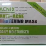Acnix Anti-Acne Whitening Mask แอคนิค ครีม มาร์คลดสิว ราคาถูก ขายส่ง ของแท้