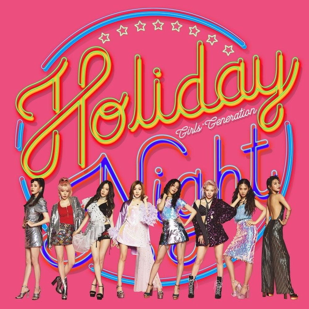 GIRLS GENERATION SNSD 6TH ALBUM - HOLIDAY NIGHT (RANDOM VER ...
